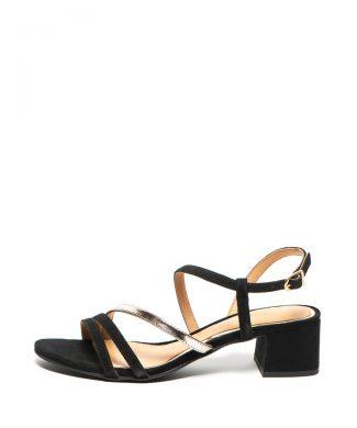 Sandale de piele intoarsa - cu toc masiv Alsace-sandale-Gioseppo
