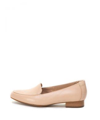 Pantofi loafer cu toc cu aspect stratificat Juliet Lora-mocasini-Clarks