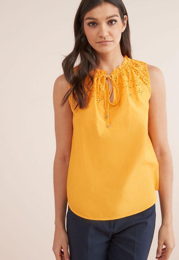 Bluza fara menci cu detalii brodate-bluze-NEXT