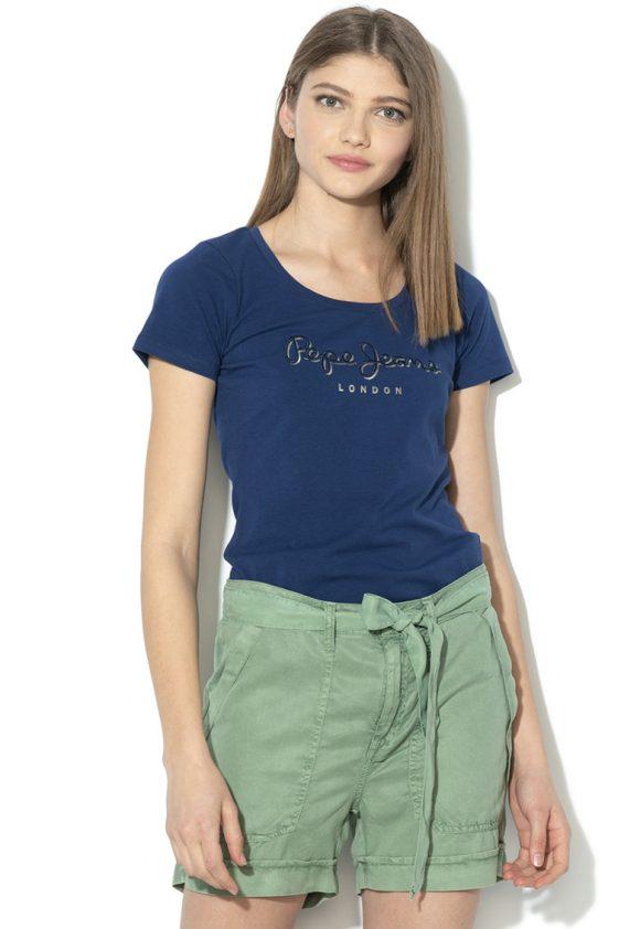 Tricou cu imprimeu logo Angelica-tricouri-Pepe Jeans London