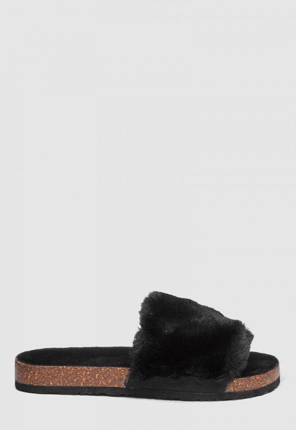 Papuci din blana sintetica-papuci-NEXT