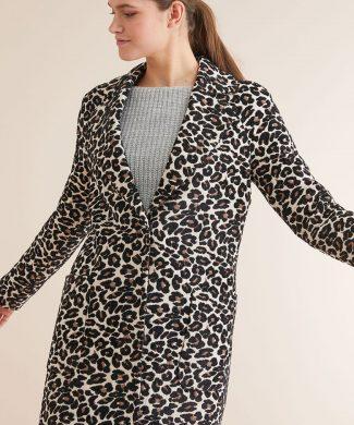 Palton cu animal print-paltoane-NEXT