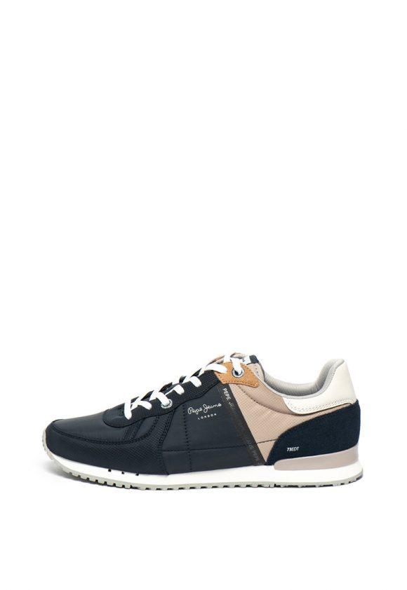 Pantofi sport cu logo Tinker-tenisi-Pepe Jeans London