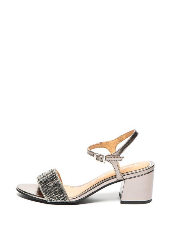 Sandale de piele - cu toc masiv Frehel-sandale-Gioseppo