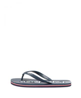 Papuci flip flop cu logo stantat Durham-papuci-Pepe Jeans London