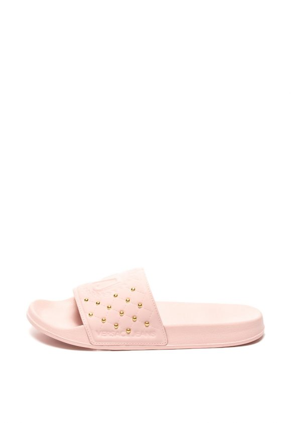 Papuci cu nituri-papuci-Versace Jeans