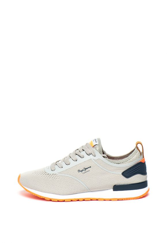 Pantofi sport slip-on din material tricotat Boston-tenisi-Pepe Jeans London