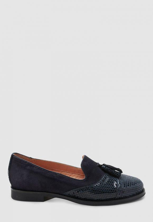 Pantofi loafer de piele cu canafi-mocasini-NEXT