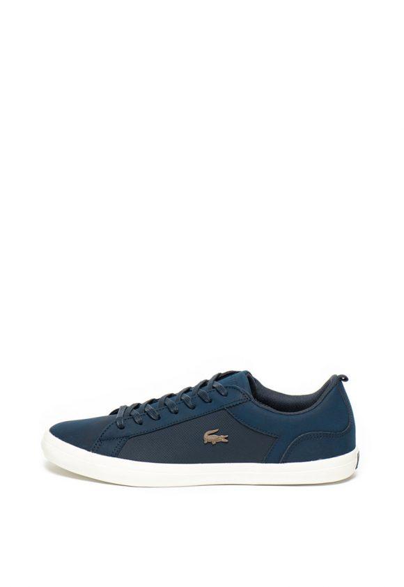 Pantofi sport cu insertii de piele Lerond-tenisi-Lacoste