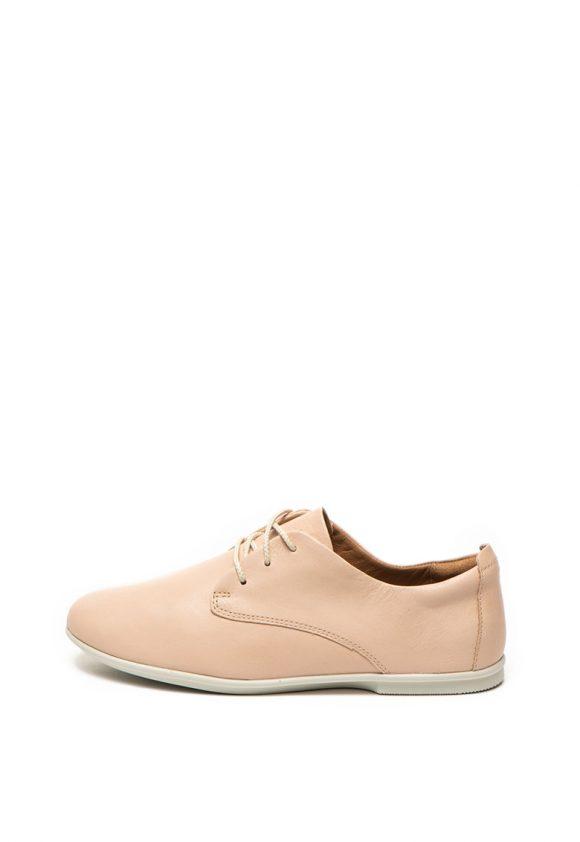 Pantofi casual de piele - cu siret Un Coral-pantofi clasici-Clarks