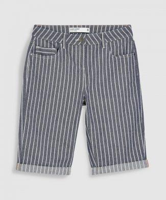 Bermude in dungi-pantaloni si colanti-NEXT