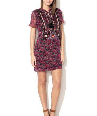 Rochie dreapta cu imprimeu-rochii-DESIGUAL
