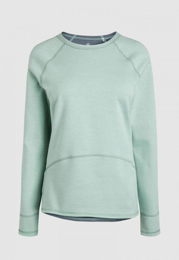 Bluza sport cu model reversibil si maneci raglan-bluze-NEXT