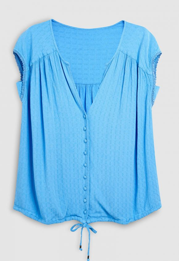 Bluza cu snur la terminatie-bluze-NEXT
