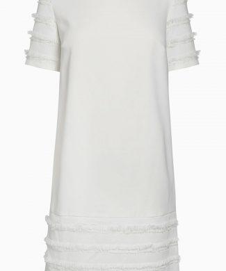 Rochie cu croiala in A si franjuri-rochii-NEXT