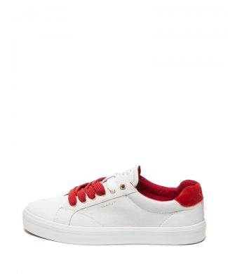 Pantofi sport de piele cu detalii contrastante Baltimore-tenisi-Gant