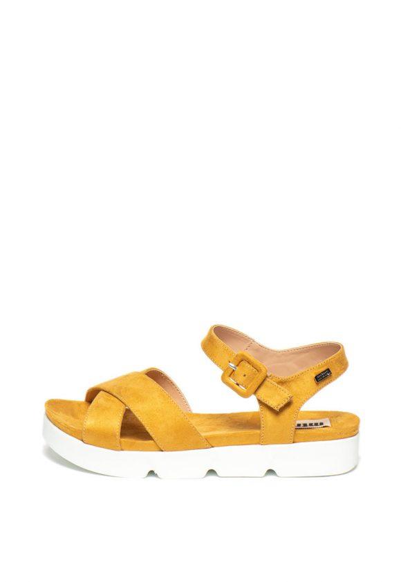 Sandale slingback de piele ecologica-sandale-MTNG
