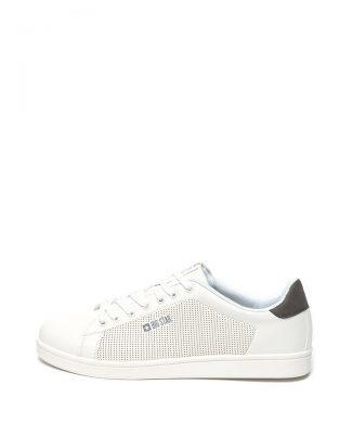 Pantofi sport de piele ecologica cu perforatii-tenisi-BIG STAR