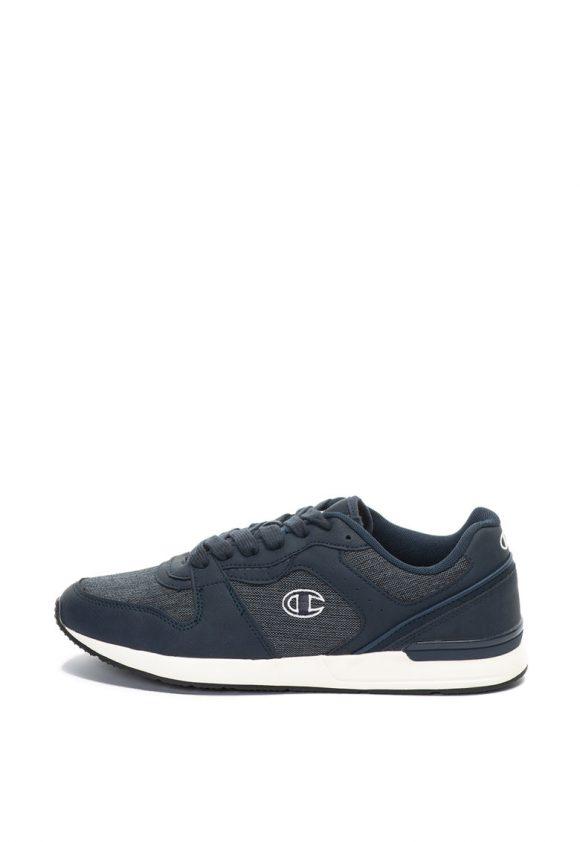 Pantofi sport de material textil si piele ecologica Warrior-tenisi-Champion