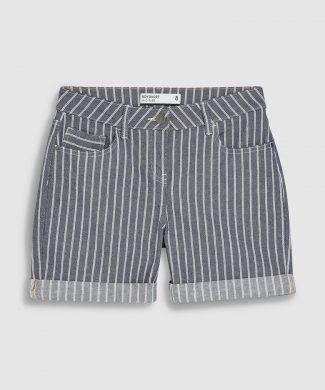 Pantaloni scurti cu dungi-jeansi-NEXT