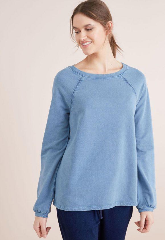 Bluza cu insertii de dantela crosetata-bluze-NEXT