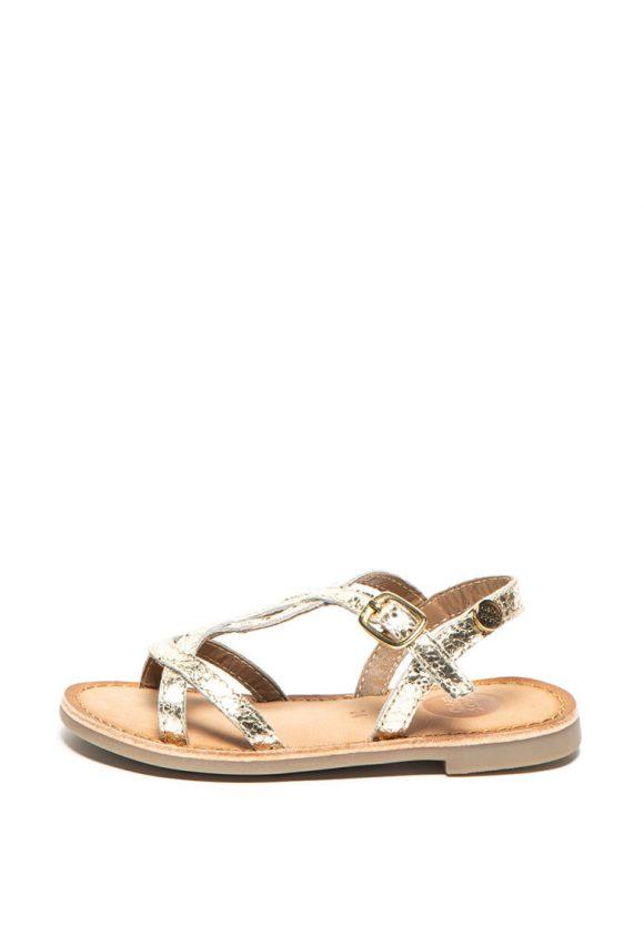 Sandale de piele cu barete multiple Cinisello-sandale-Gioseppo