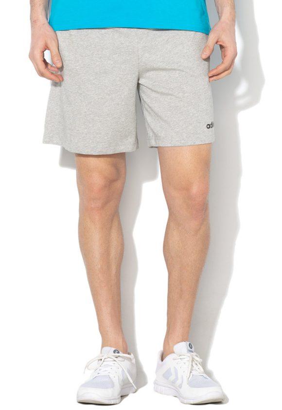 Pantaloni scurti cu imprimeu logo - pentru antrenament-Pantaloni si salopete-Adidas PERFORMANCE
