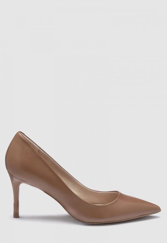 Pantofi de piele cu varf ascutit-pantofi clasici-NEXT