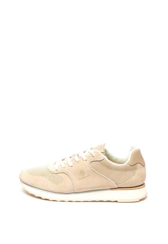 Pantofi sport de piele intoarsa Lindsey-tenisi-Gant