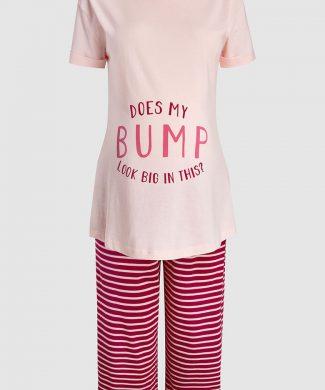 Pijama cu imprimeu - pentru gravide-pijamale si halate de baie-NEXT