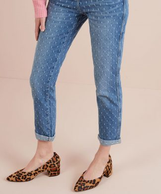 Blugi relaxed fit cu croiala skinny-jeansi-NEXT