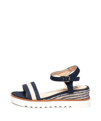 Sandale de piele ecologica - cu platforma-sandale-MTNG