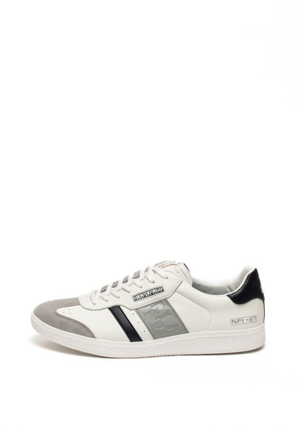 Pantofi sport de piele cu garnitura de piele intoarsa Court-tenisi-Napapijri