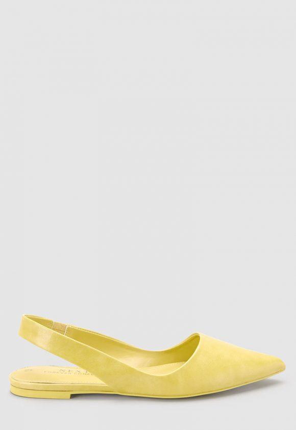 Pantofi slingback de piele ecologica - cu varf ascutit-pantofi clasici-NEXT