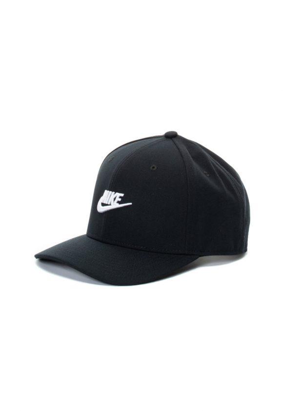 Sapca unisex cu capsa pe partea din spate si logo brodat-palarii si sepci-Nike