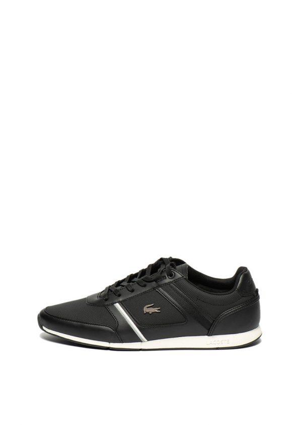 Pantofi sport de piele si piele ecologica cu Ortholite ® Menerva-tenisi-Lacoste