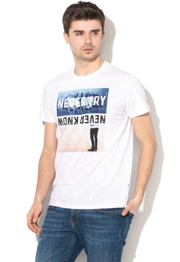 Tricou cu imprimeu grafic Aude-tricouri-BIG STAR
