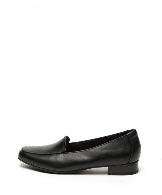 Pantofi loafer de piele Juliet Lora-mocasini-Clarks