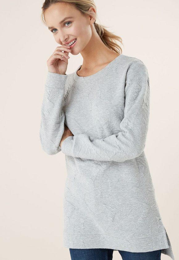 Pulover cu aspect texturat-tricotaje-NEXT