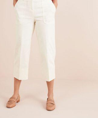 Pantaloni capri cu croiala dreapta-pantaloni si colanti-NEXT