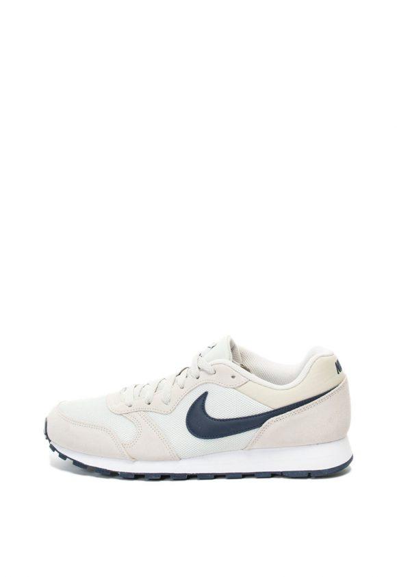 Pantofi sport cu garnituri de piele intoarsa MD Runner 2-tenisi-Nike