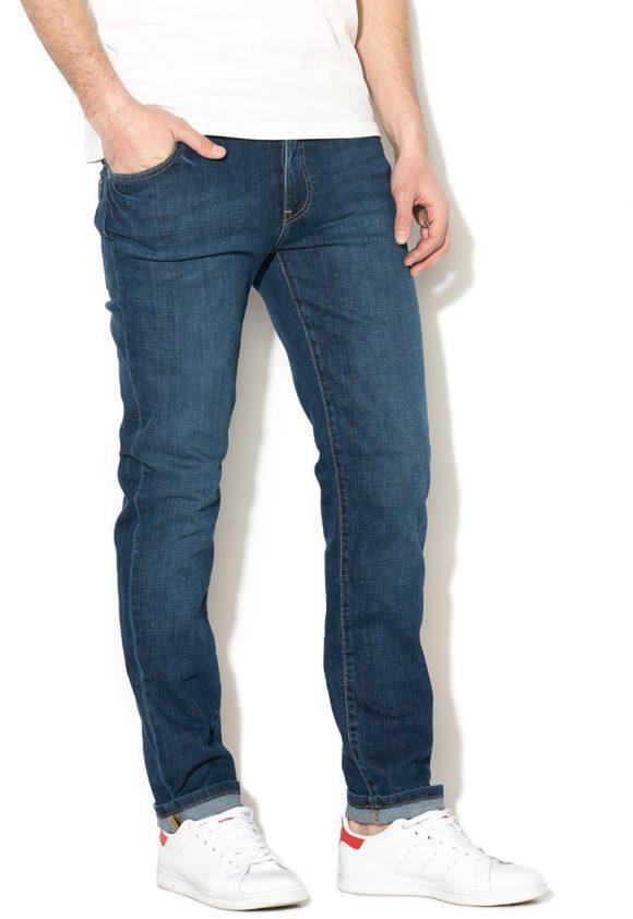 Blugi conici slim fit Martin-jeansi-BIG STAR