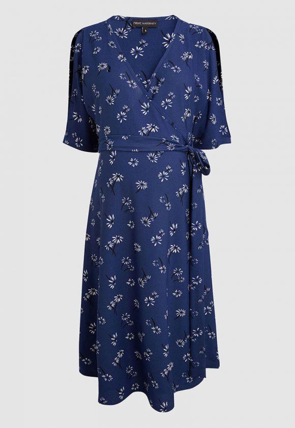 Rochie cu imprimeu floral pentru gravide-rochii-NEXT