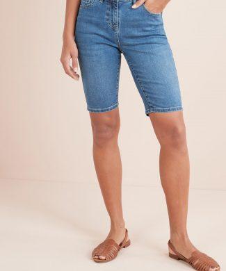 Blugi scurti skinny fit-jeansi-NEXT