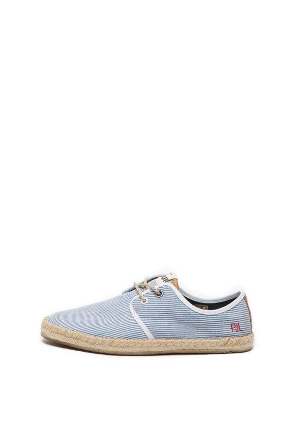 Pantofi casual cu model in dungi Tourist-pantofi clasici-Pepe Jeans London