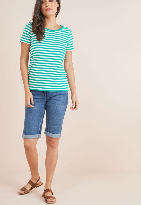 Bermude din denim-jeansi-NEXT