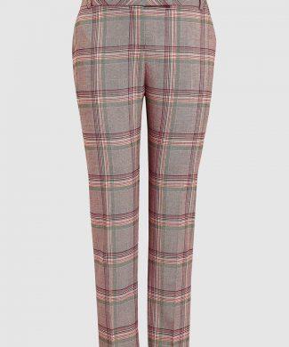 Pantaloni slim fit - cu carouri-pantaloni si colanti-NEXT