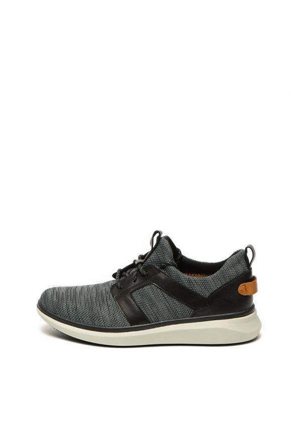 Pantofi sport slip on cu garnituri de piele ecologica Un Globe-tenisi-Clarks