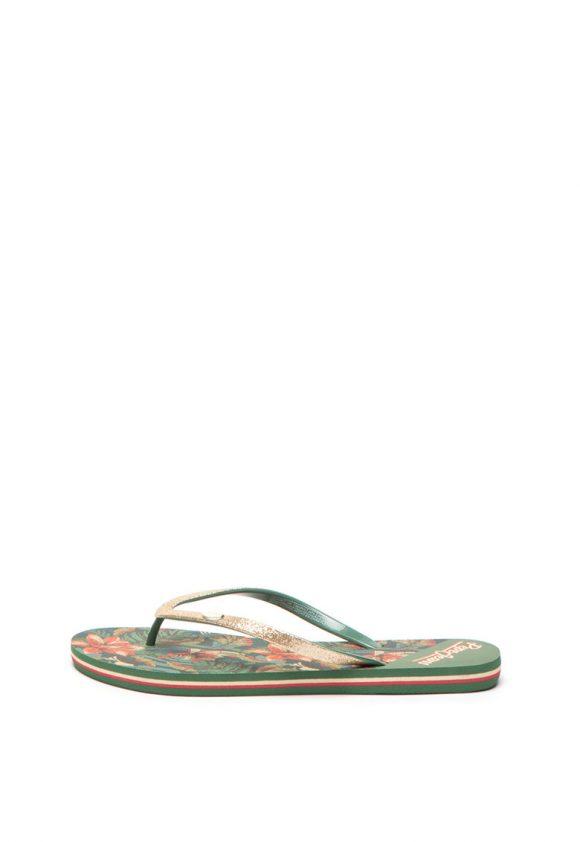 Papuci flip-flop cu detalii stralucitoare Rake-papuci-Pepe Jeans London