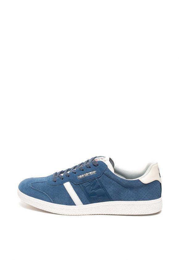 Pantofi sport de piele intoarsa cu perforatii Court-tenisi-Napapijri